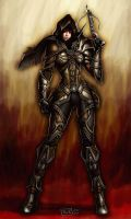 Demon Hunter --- Diablo 3 by EvilFlesh