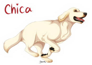 Markiplier's Chica by AethonGryphon
