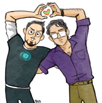 LOVE LOVE SCIENCE BROS by ttx6666
