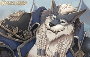 Greymane (World of Warcraft) Reward November 2017! by Sollyz