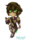 Chibi me page doll by RadioactiveRays
