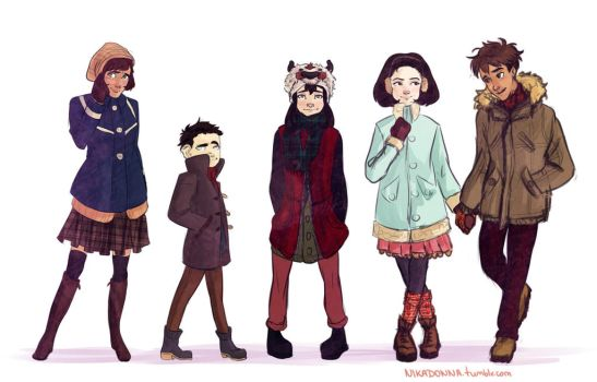 very important secondary characters by Nikadonna
