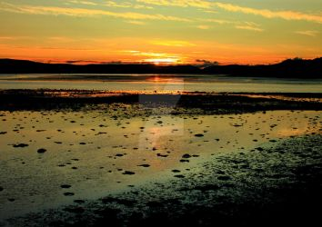 Sunset from Dumbarton Rock 3 by Crannogphotographic