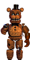 Withered freddy full body *request* by JoltGametravel
