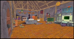 [MMD] Merlin's House - DL!!! by Otzipai-Art