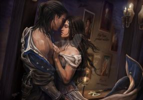 Assassins Creed 3 - Temptation by KejaBlank