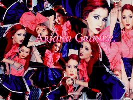 Wallpaper[Blend] de Ariana Grande by AlmeBG