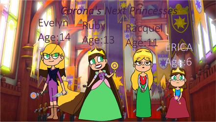 Corona's Next Princesses by vanessa5400