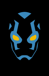 Blue Beetle Minimalist Design by burthefly