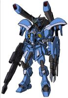 GAT-X137 Vanguard Gundam MS mode by unoservix