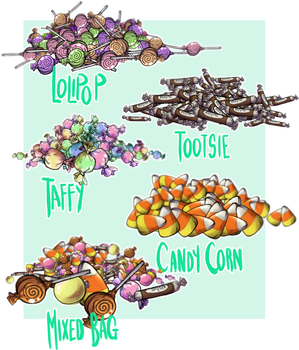 Free Medibang Candy Brushes (+Downloads!) by Loopy44