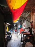 Bangkok Alleyway by emshore