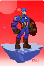 Captain America (Steve Rogers) by gnome-oo