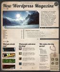 New Wordpress Magazine Theme by Real99