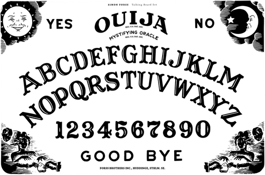 Ouija Board Template by S1mF0n