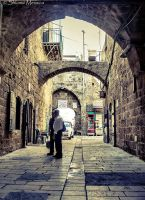 In the streets of Akko 3 by ShlomitMessica