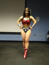 Wonder Woman cosplay guest. by Ray-pyromancer