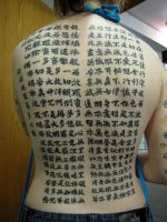 Buddhist  Backpiece by Mister-Nintendo