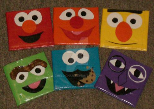 Duct Tape - Sesame Street by ChelliChan