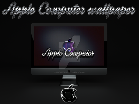 Apple computer by matisse2018