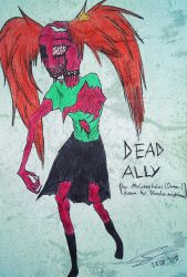 (Request Art/Creepypasta OC) Dead Ally by Bloodrainnightmare