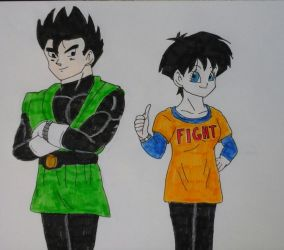 Gohan and Videl - Fusion Reborn by JQroxks21
