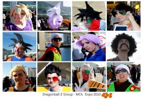 Dragonball Cosplay Group by Tartan-Faerie
