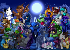 Comm: Moonlight Group by pridark
