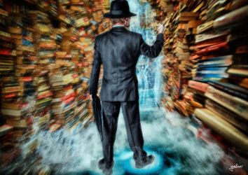The Book Keeper by yunkaerphotographic