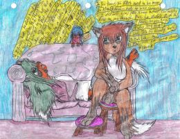 17. After the restaurant by Keikoku147