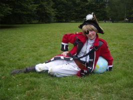 APH cosplay Pirate England by StarRose17