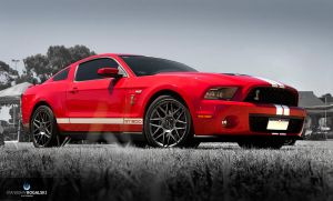 Red GT500K by StachRogalski
