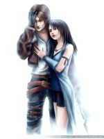 Squall and Rinoa by Mar-ka
