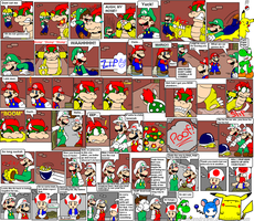 super mario bros page 32 by Nintendrawer
