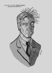 Two- Face/rough ink sketch by LeoMitchell