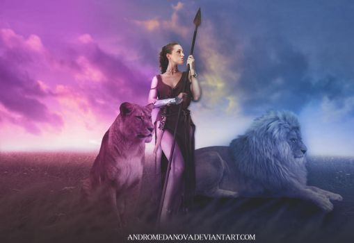 Queen of the Pride by AndromedaNova