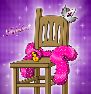 Contest Prize - The Most Fabulous Chair by drinkyourvegetable