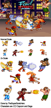 'NGPC' Final Streets of Rage by JDPlayer