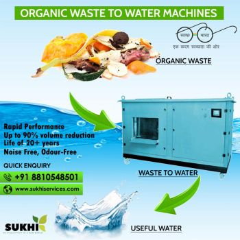 Organic waste to water machines in Dwarka at Delhi by anu0607