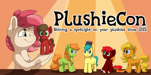 PlushieCon Banner by haselwoelfchen