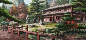 Japanese Temple - 2012 by incasent