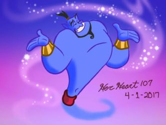 Genie from Aladdin by HerHeartCrafts