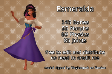 MMD Esmeralda +DL by 0-0-Alice-0-0