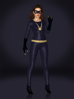 Catwoman (1960s DLC) by Sticklove