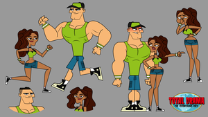 The Ridonculous Race - Meet The Wrestlers by Emperor-Lucas