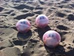 Waddle Dees in bubbles on the sand by LuigiFan00001