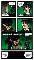 Happy Halloween Arkham City by Jennisms