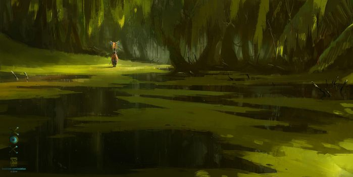 20141210 Swamp by psdeluxe