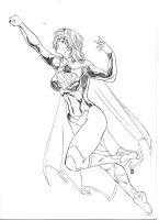 New 52 Supergirl by JeanSinclairArts