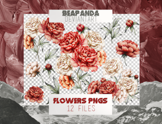 Renders 017 // Flowers Pngs by BEAPANDA